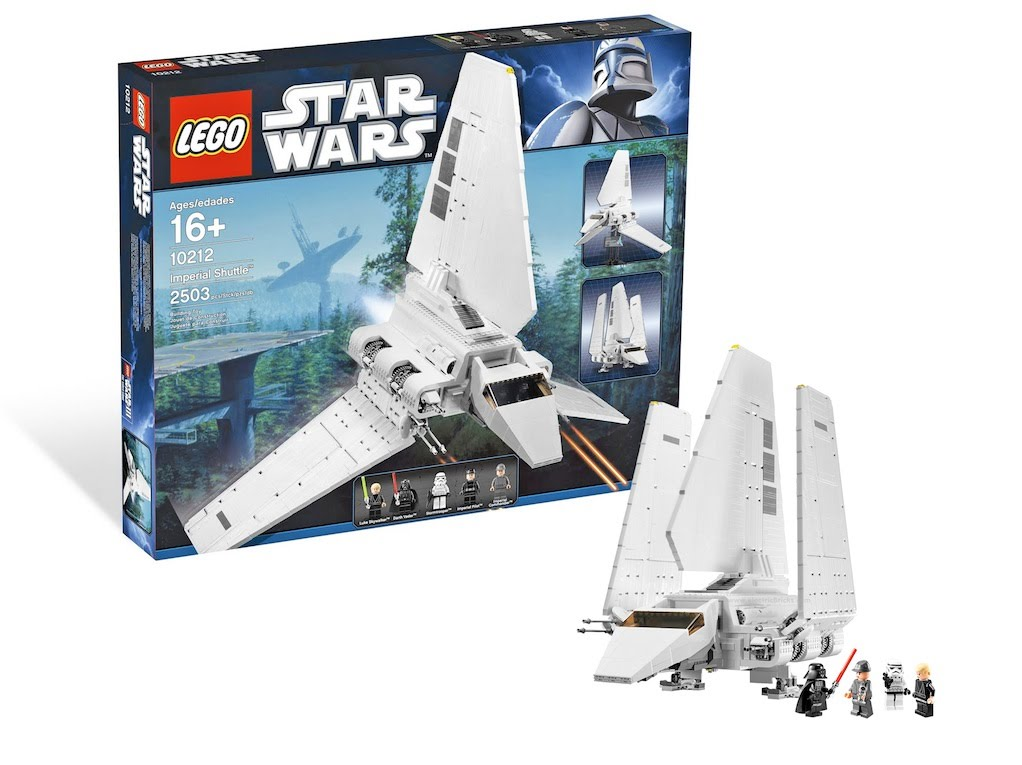 LEGO Star Wars 10212 UCS Imperial Shuttle Review