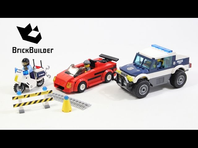 Lego City 60007 High Speed Chase – Lego Speed Build