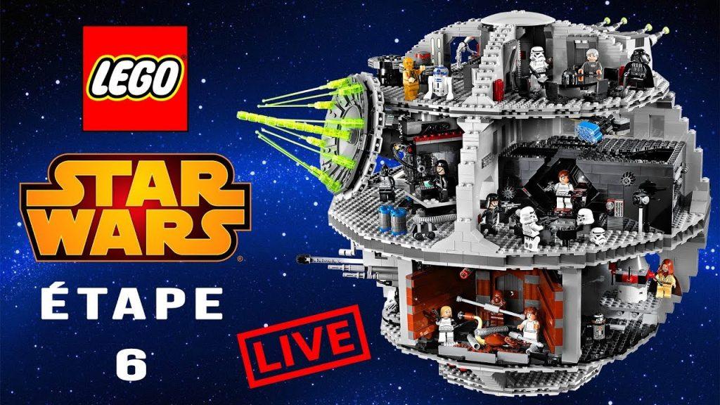 LEGO STAR WARS : on monte l'Étoile de la Mort !   ÉTAPE 6