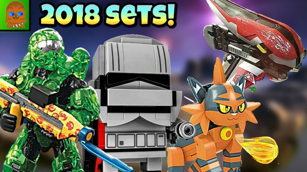 2018 Mega Construx Halo & Pokémon + Lego Star Wars Sets !