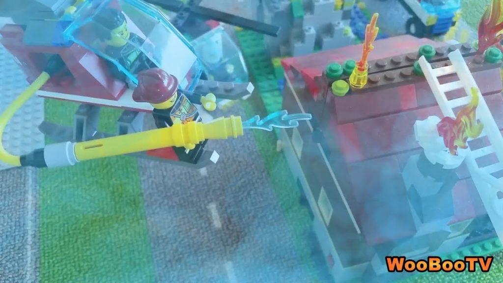 LASTENOHJELMIA SUOMEKSI – Lego city – Poliisien ja palomiesten päivä – osa 3