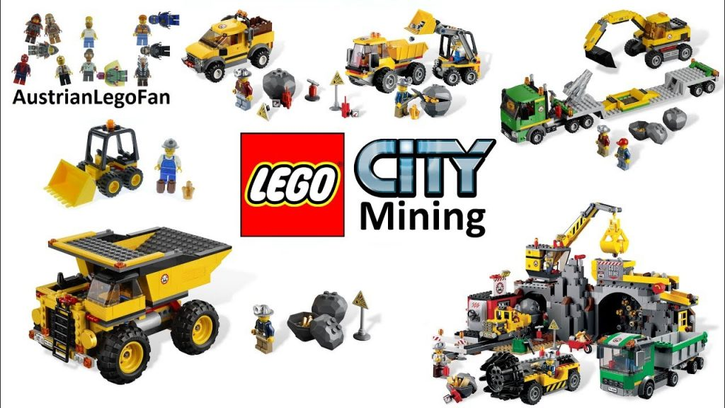 All Lego City Mining / Gold Mine Sets 2012 – Lego Speed Build Review