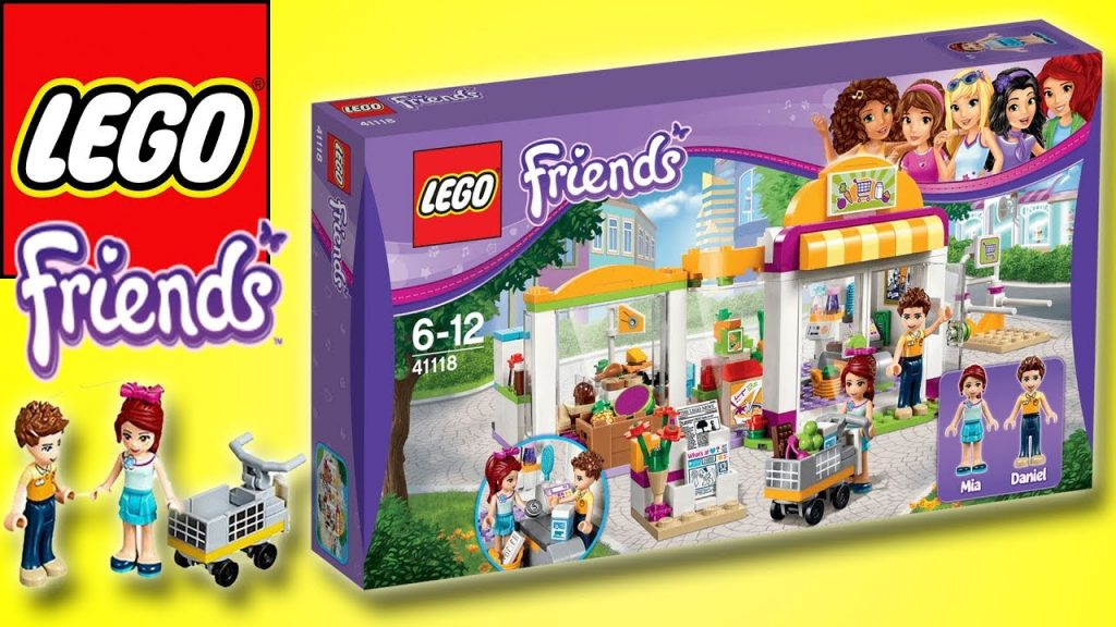 LEGO FRIENDS – HEARTLAKE CITY SUPERMARKET – BUILD & PLAY| Little Kelly & Friends ToysReview for Kids