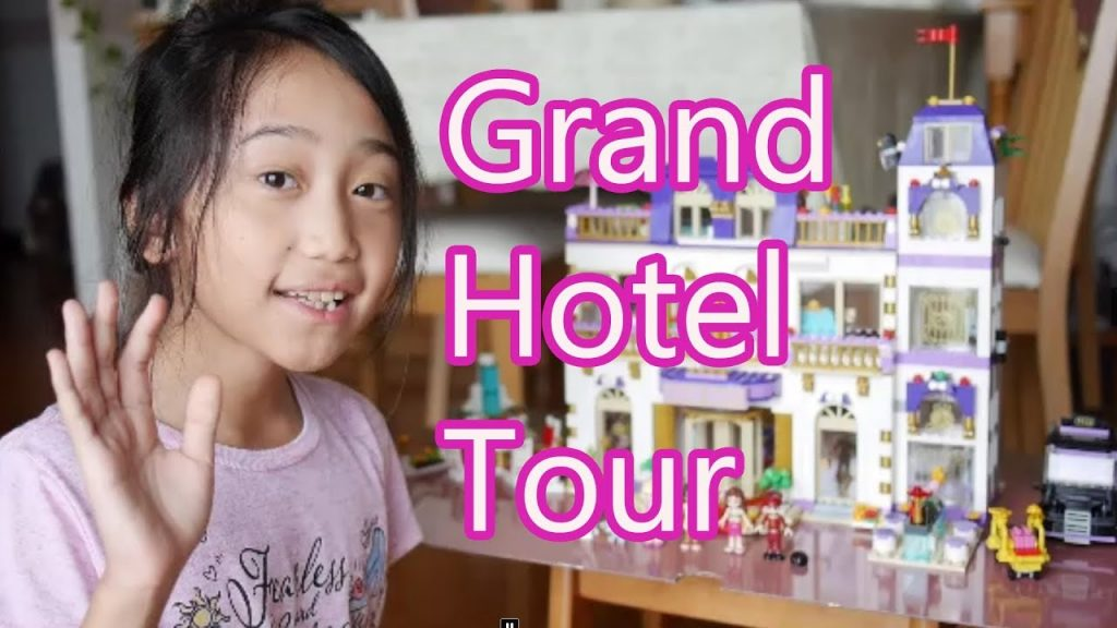 Lego Friends Grand Hotel Tour