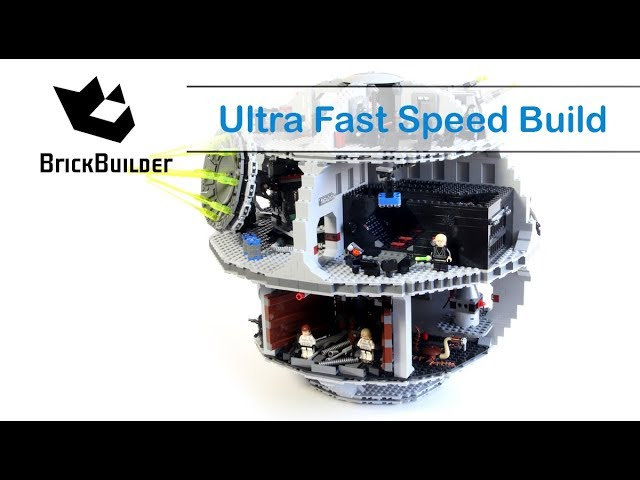 Ultra Fast Speed Build Lego Star Wars 10188 Death Star – Brick Builder