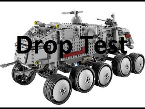 LEGO Star Wars Clone Turbo Tank Drop Test! (LEGO 8098!)