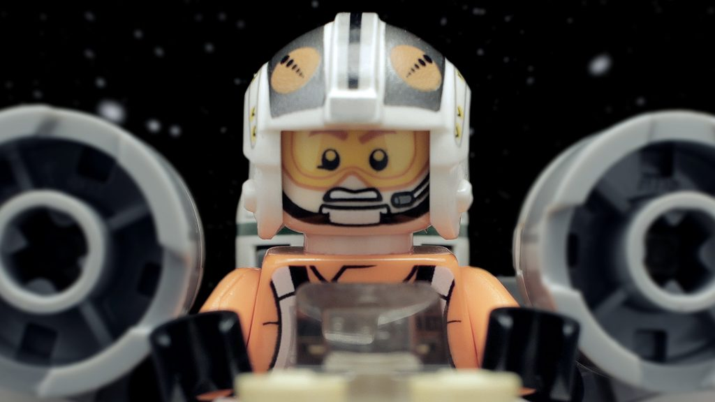 LEGO Star Wars X-Wing Fighter 75032 Animated in 4K