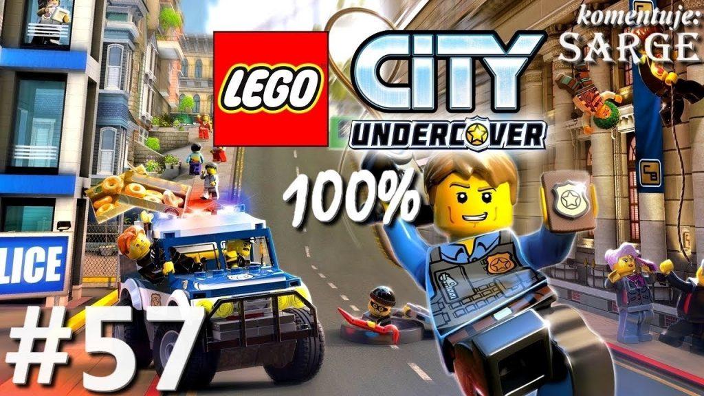 Zagrajmy w LEGO City Tajny Agent (100%) odc. 57 – Remiza straży pożarnej 100%   LC Undercover PL
