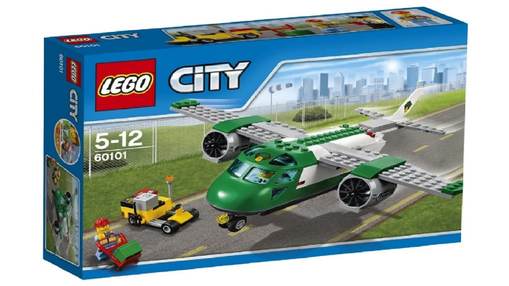 Lego City 60101 Fan Video Cargo airplane – Lego Speed Build