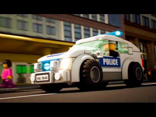 МАШИНКИ. Мультики про МАШИНКИ. LEGO City – Полиция | Серия 1