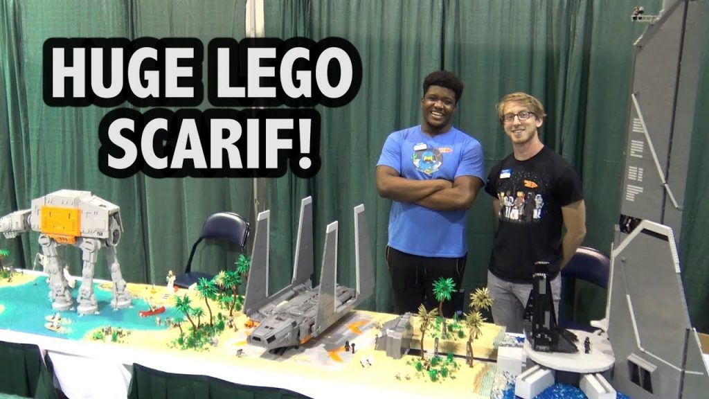 Custom LEGO Star Wars Scarif Battle Scene | Brick Fiesta 2017