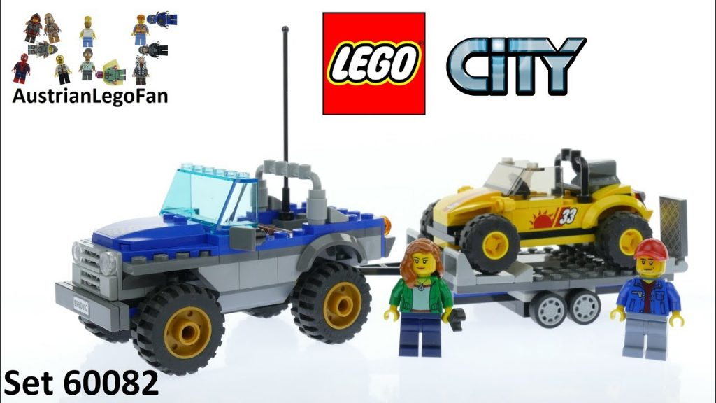 Lego City 60082 Dune Buggy Trailer – Lego Speed Build Review