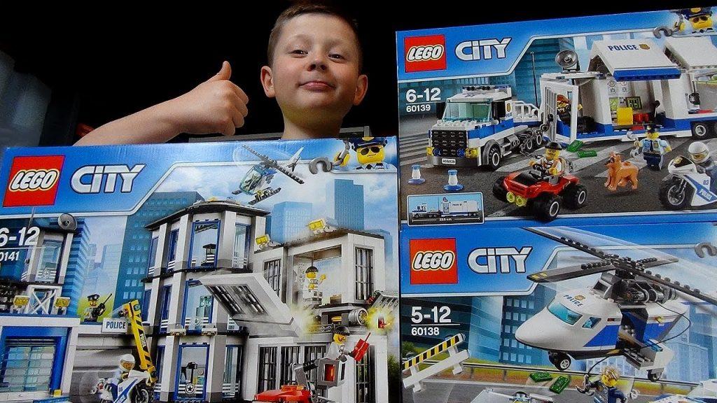 LEGO City Policja i DZIWNA historia