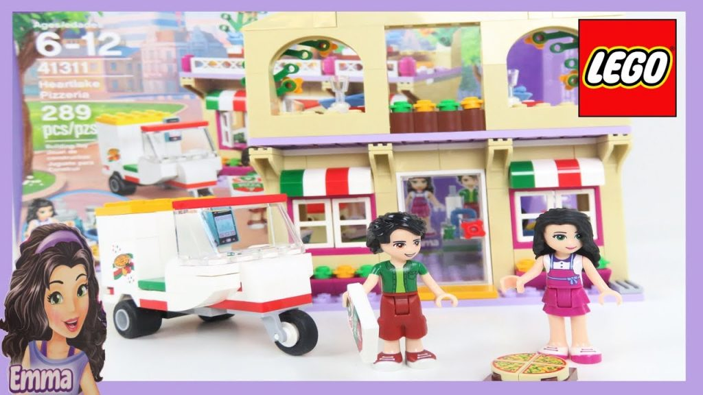 Lego Friends Heartlake Pizzeria Set Unboxing Building Review – City Kids Toys – Full Version