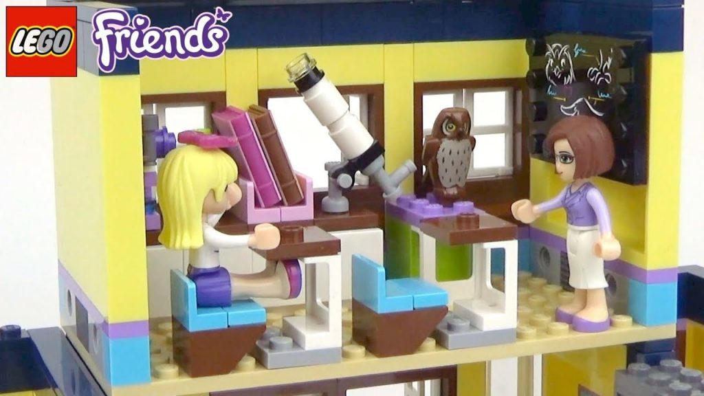 LEGO Friends Heartlake High  – Playset 41005 Toy Unboxing & Speed Build