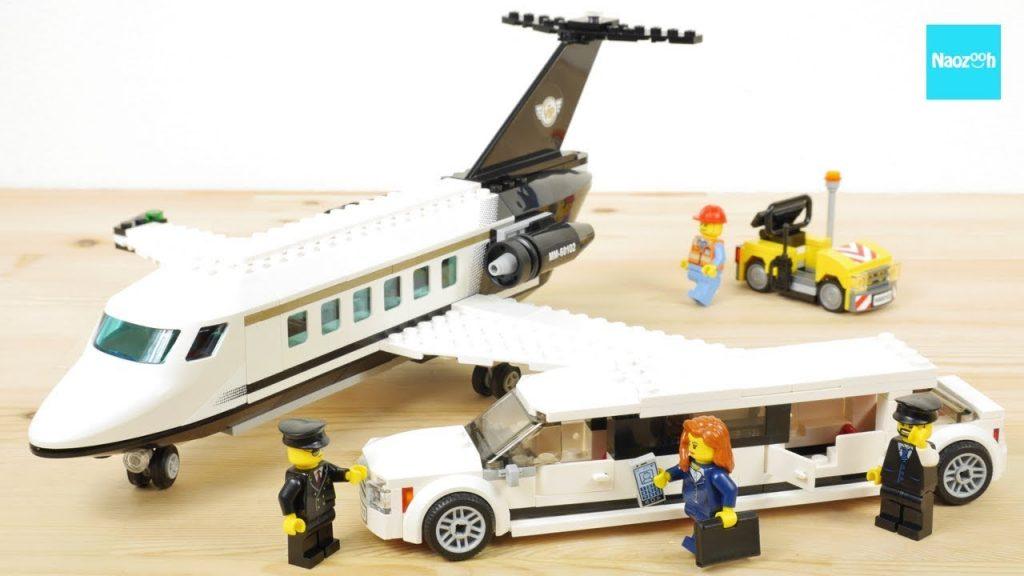 レゴ シティ プライベートジェットとリムジン 60102 / LEGO City Airport VIP Service 60102