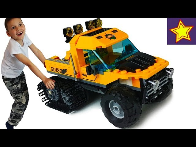 Лего Машинки Грузовик, Грузовой вертолет, внедорожник, квадроцикл Lego City toys kids