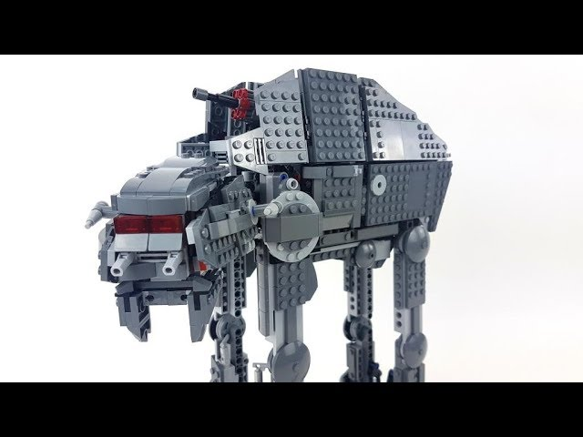 LEGO Star Wars Set 75189 – First Order Heavy Assault Walker – Unboxing & Review deutsch