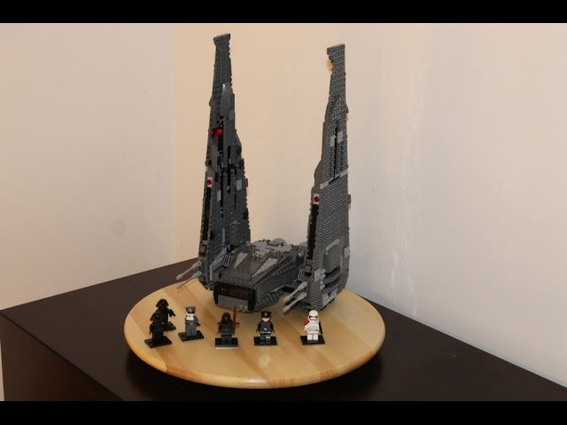 LEGO Star Wars Set 75104 Kylo Ren´s Command Shuttle Unboxing & Review deutsch german