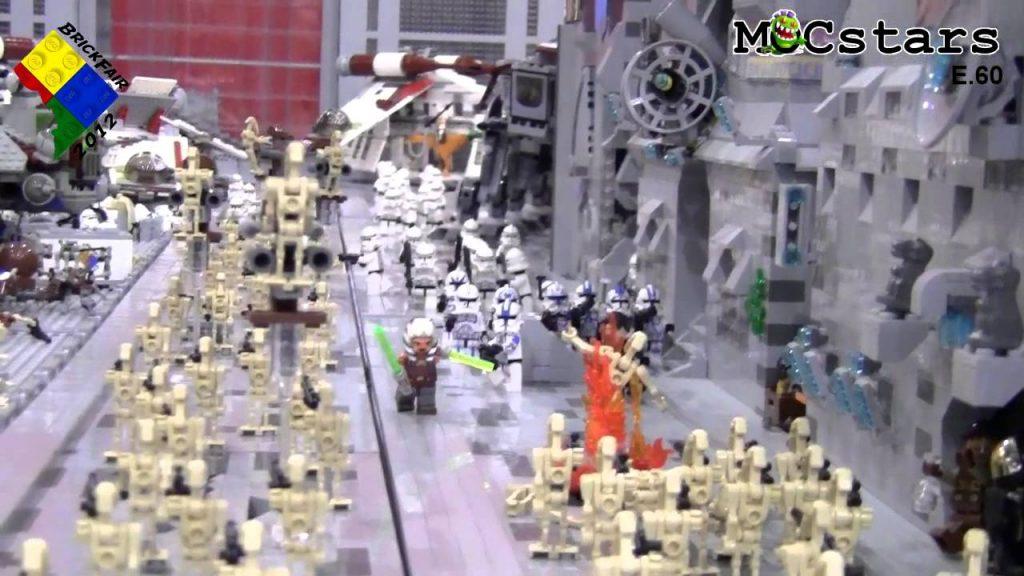 MOCstars: LEGO Star Wars Battle of Coruscant: Clone Wars MOC