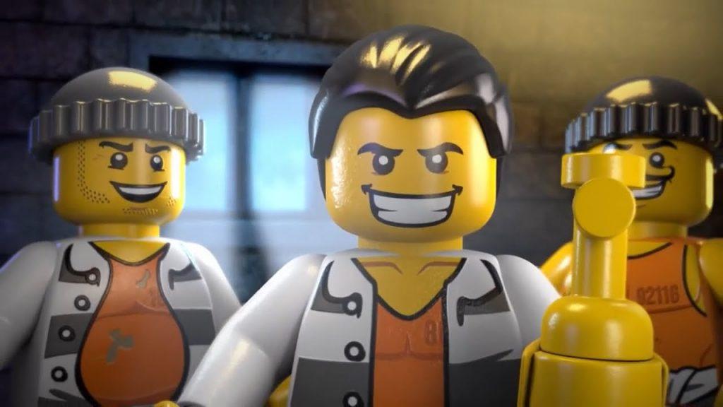 ЛЕГО СИТИ 2016 – Побег из острова-тюрьмы / LEGO CITY – The Escape from Prison Island