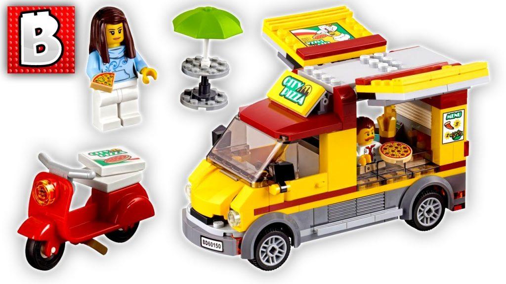Lego City Pizza Van! Set 60150 | Unbox Build Time Lapse Review + Comparison