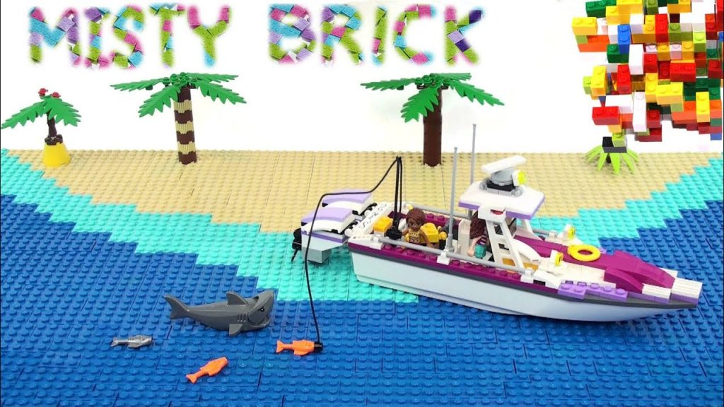 Lego Friends Fishing Boat by Misty Brick.