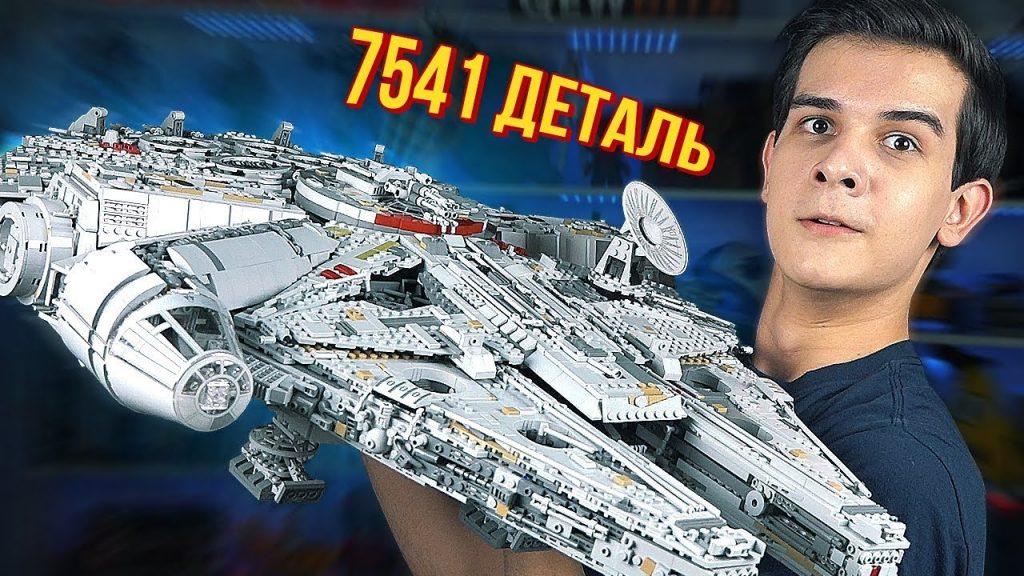 САМЫЙ БОЛЬШОЙ НАБОР В МИРЕ! – LEGO STAR WARS Millennium Falcon 2017