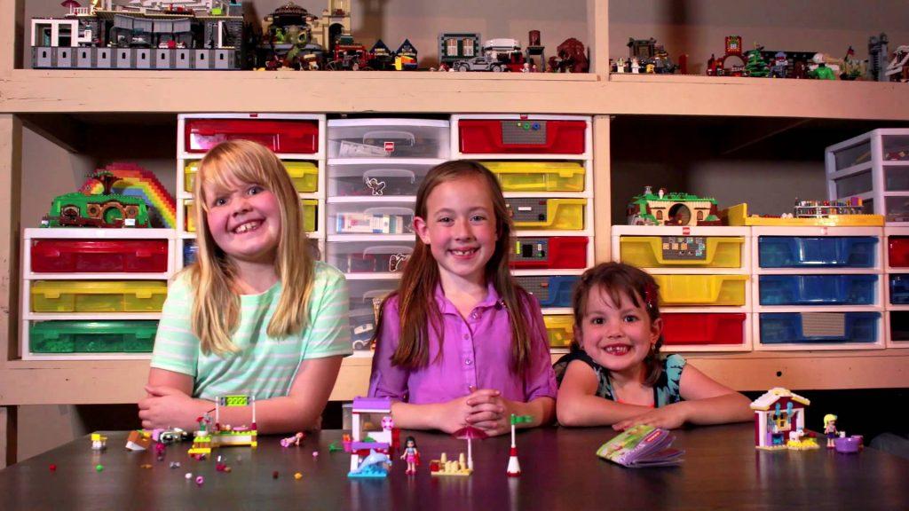 LEGO Friends Brick Girl