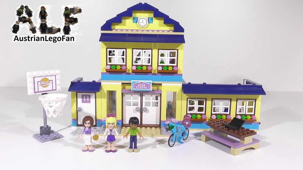 Lego Friends 41005 Heartlake High – Lego Speed Build Review