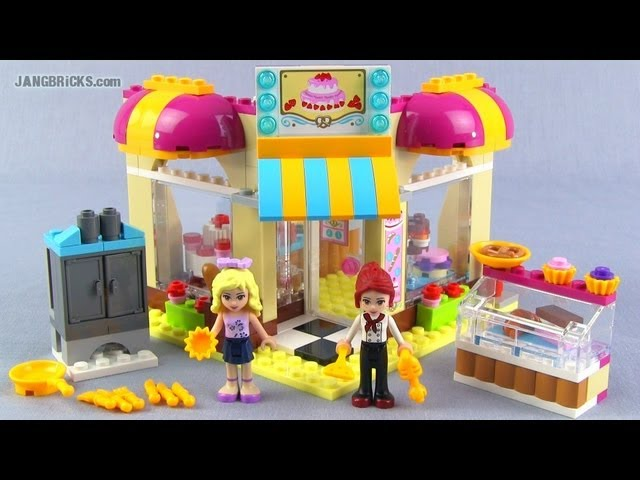 LEGO Friends Downtown Bakery 41006 set Review!