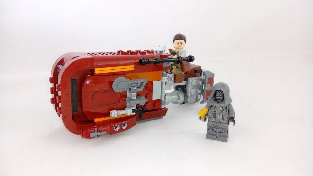 Recenzja – LEGO Star Wars 75099 Śmigacz Rey