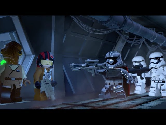 Lego Star Wars The Force Awakens DLC Poe To The Rescue