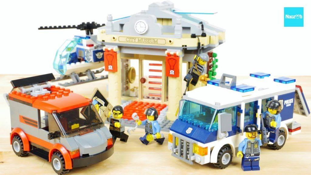 レゴ シティ ポリス ポリスバンのどろぼう追跡 60008 / LEGO City Police Museum Break-in 60008