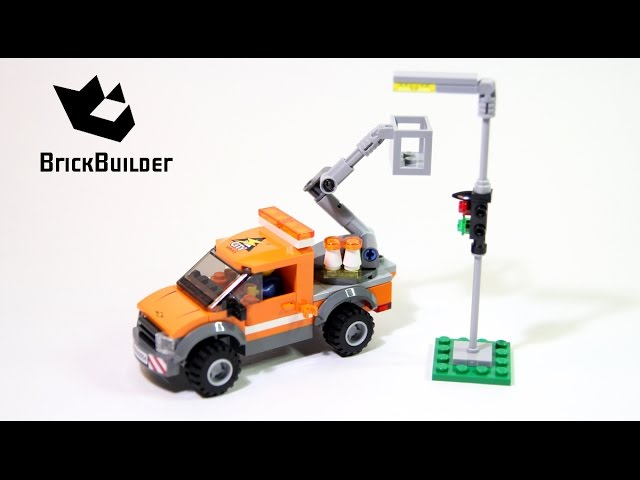 Lego City 60054 Light Repair Truck – Lego Speed Build