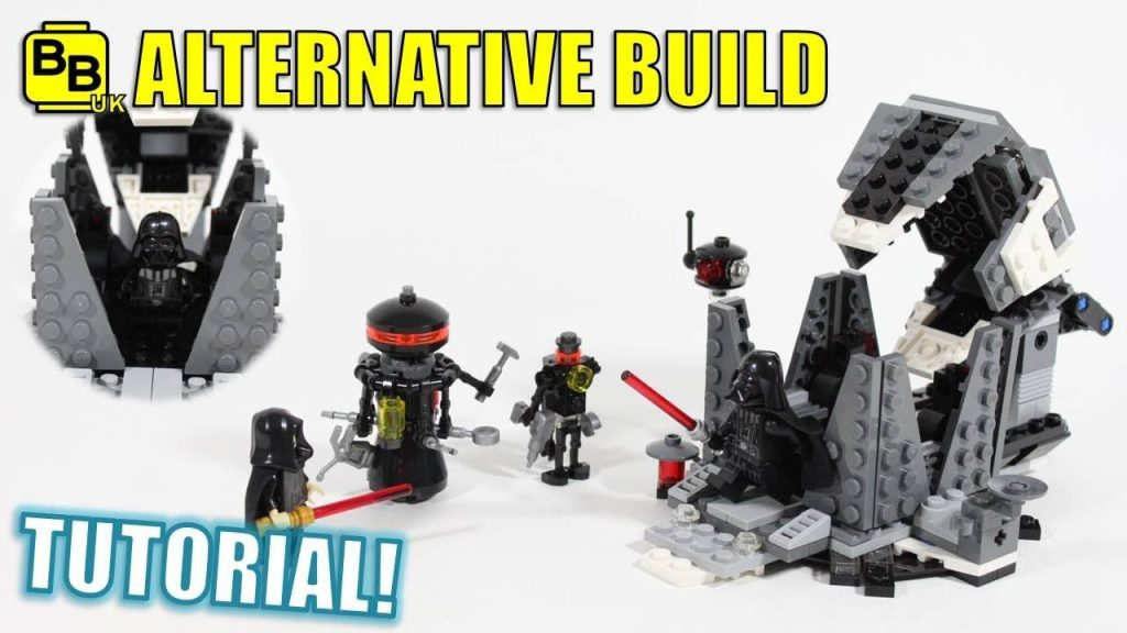 LEGO STAR WARS 75183 ALTERNATIVE BUILD MEDITATION CHAMBER!