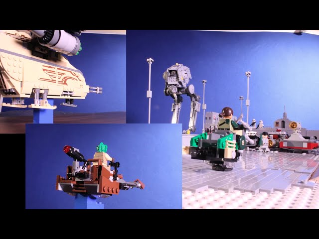 "LEGO Star Wars ""Imperial Roadblock:"" Behind the Scenes"