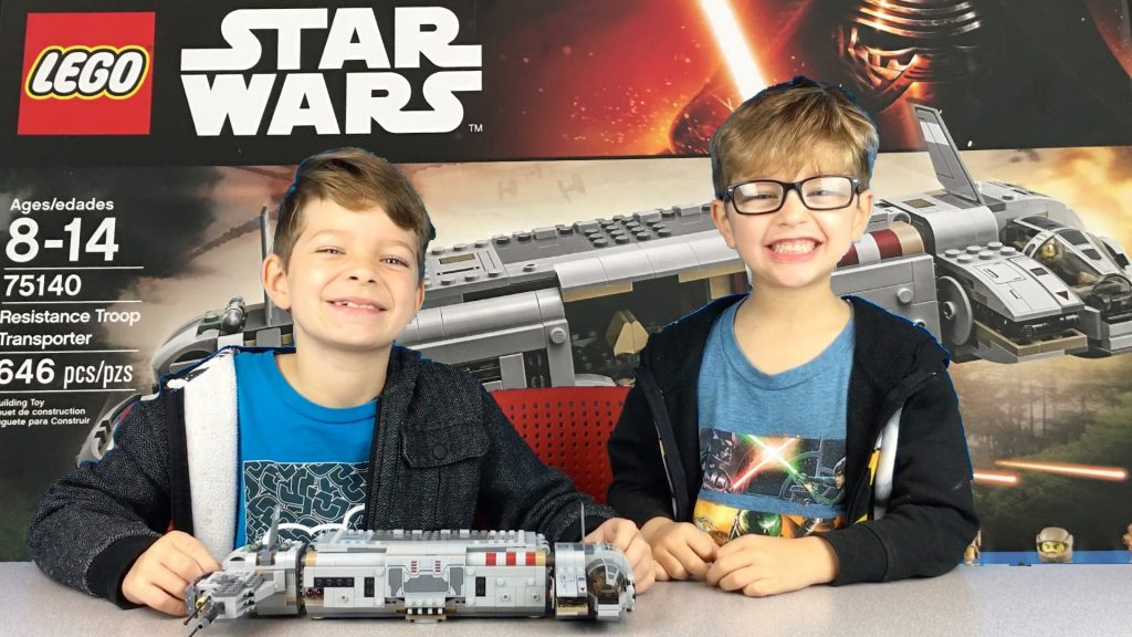 Lego Star Wars Resistance Troop Transporter Unboxing, Build, and Review 75140