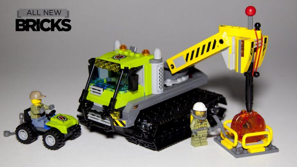 Lego City 60122 Volcano Crawler Speed Build
