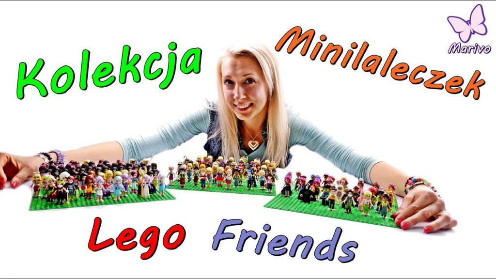 Moja MEEEEGA kolekcja minilaleczek LEGO FRIENDS 🎉 Specjał na 50 000 subskrybcji 🎉