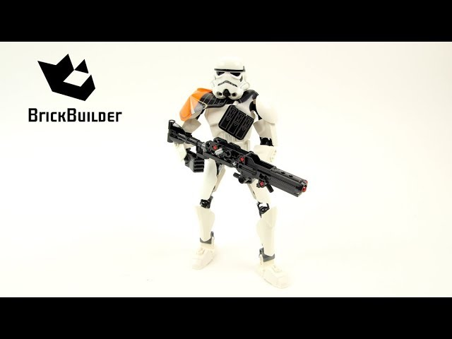 Lego Star Wars 75531 Stormtrooper Commander – Lego Speed Build