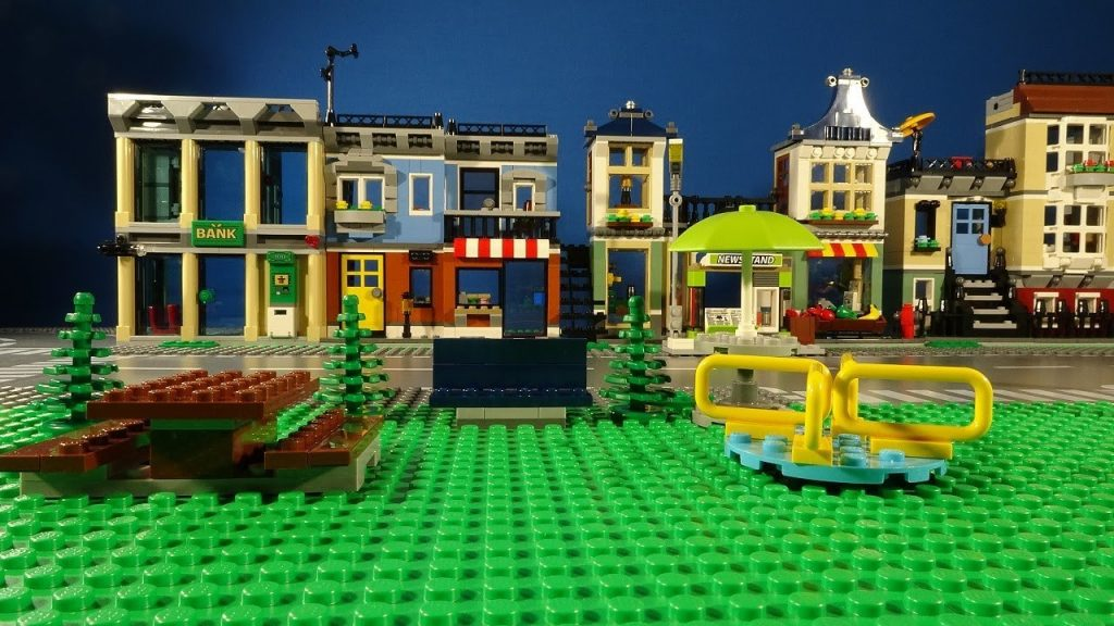 LEGO CITY – A MORNING IN THE PARK