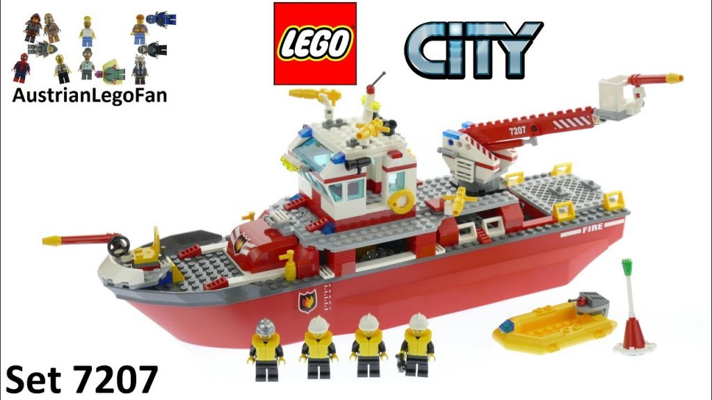 Lego City 7207 Fire Boat – Lego Speed Build Review