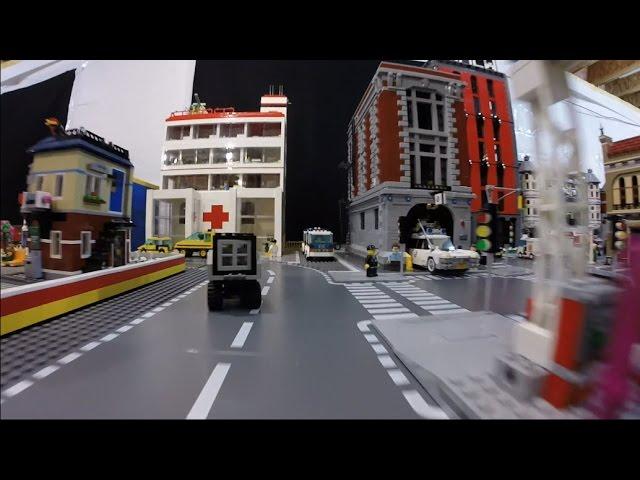A Drive Through the LEGO City