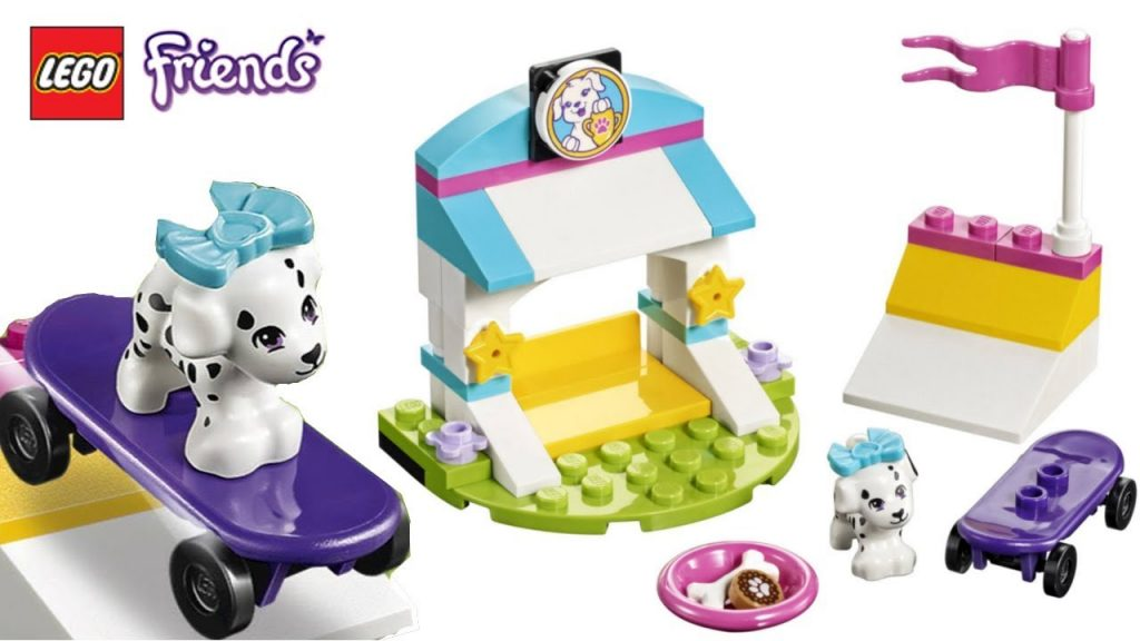 Lego Friends Puppy Funny & Crazy Feats | Friends Puppy Pampering Mini Kit!