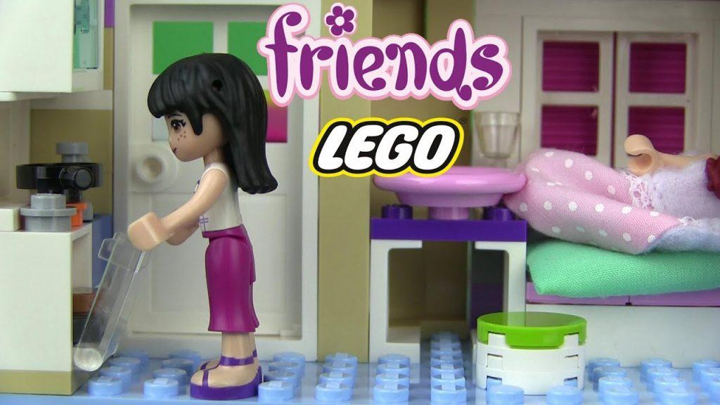 Lego Friends ОСТОРОЖНО МИЯ !!! Лего Друзья Kikityki