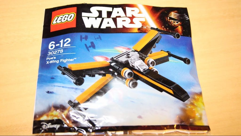 LEGO Poe's X-Wing Polybag Review – LEGO Star Wars The Force Awakens Polybag (30278)