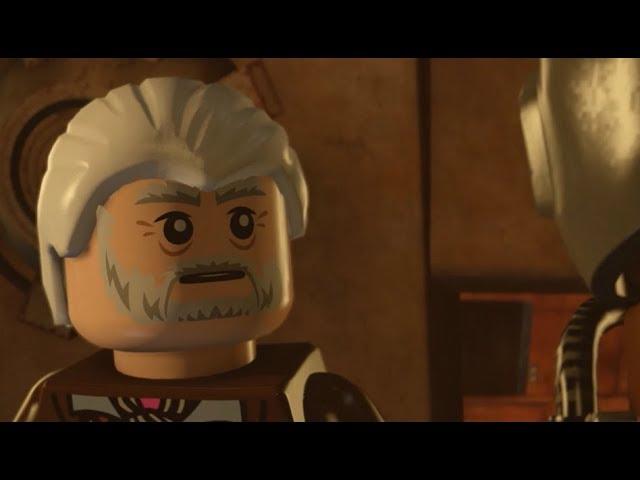 Lego Star Wars The Force Awakens DLC Lor San Tekka's Return