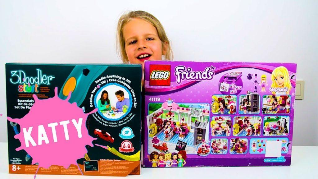 РАЗЫГРЫВАЮ Классные Призы (Крутую 3D Ручку и Набор LEGO Friends) И Готовлю Панкейки | Hello Katty