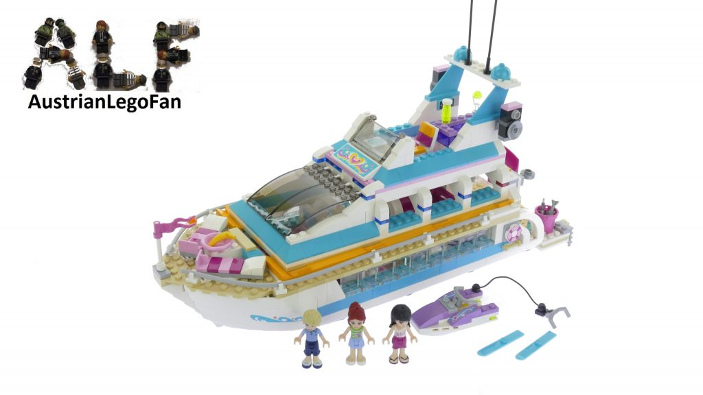 Lego Friends 41015 Dolphin Cruiser – Lego Speed Build Review